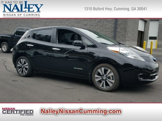 Pre-Owned 2015 Nissan LEAF S Hatchback in CummingGA