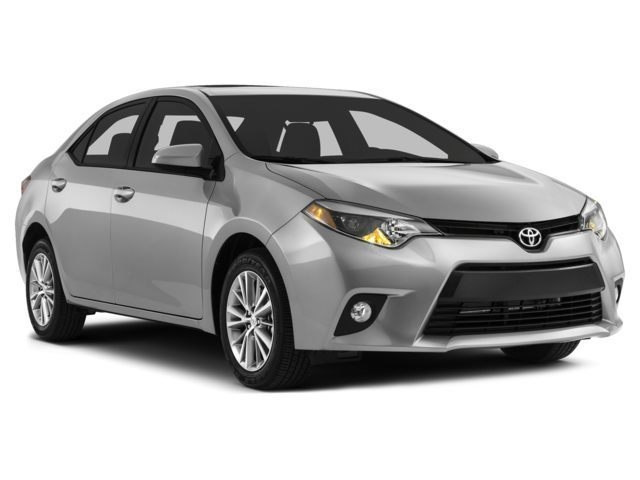 2014 Toyota Corolla LE Sedan Front-wheel Drive