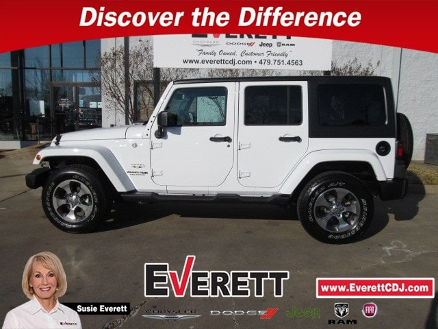 Certified Pre-Owned 2018 Jeep Wrangler Unlimited Sahara SUV For Sale Springdale, AR