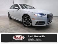 Certified Used 2018 Audi A4 Premium Plus 2.0 Tfsi S Tronic Quattro AWD Sedan quattro near Nashville, TN
