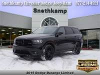 Used 2015 Dodge Durango Limited for sale near Detroit