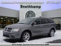 Used 2012 Dodge Journey Crew AWD for sale near Detroit