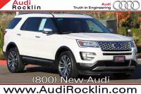 2016 Ford Explorer Platinum 4D Sport Utility SUV