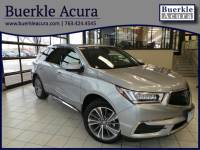 Certified Pre-Owned 2017 Acura MDX with Technology Pkg SUV in Minneapolis, MN