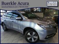 Certified Pre-Owned 2016 Acura MDX SUV in Minneapolis, MN