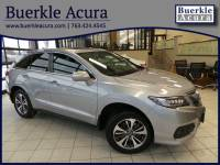 Certified Pre-Owned 2017 Acura RDX AWD w/Advance Pkg SUV in Minneapolis, MN