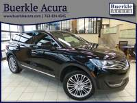 Pre-Owned 2017 Lincoln MKX Reserve AWD SUV in Minneapolis, MN