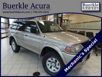 Pre-Owned 2002 Mitsubishi Montero Sport XLS SUV in Minneapolis, MN