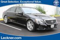 Used 2014 Mercedes-Benz S-Class For Sale | Springfield VA