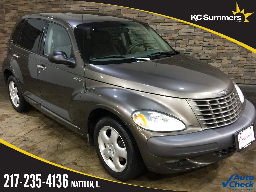 Pre-Owned 2001 Chrysler PT Cruiser Limited Edition FWD 4D Sport Utility