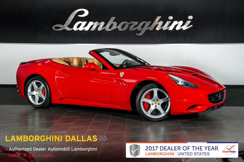 Photo Used 2013 Ferrari California For Sale Richardson,TX  Stock LC504 VIN ZFF65TJA8D0194708