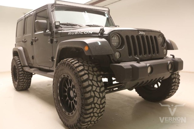 Photo Used 2016 Jeep Wrangler Unlimited Rubicon 4x4 in Vernon TX