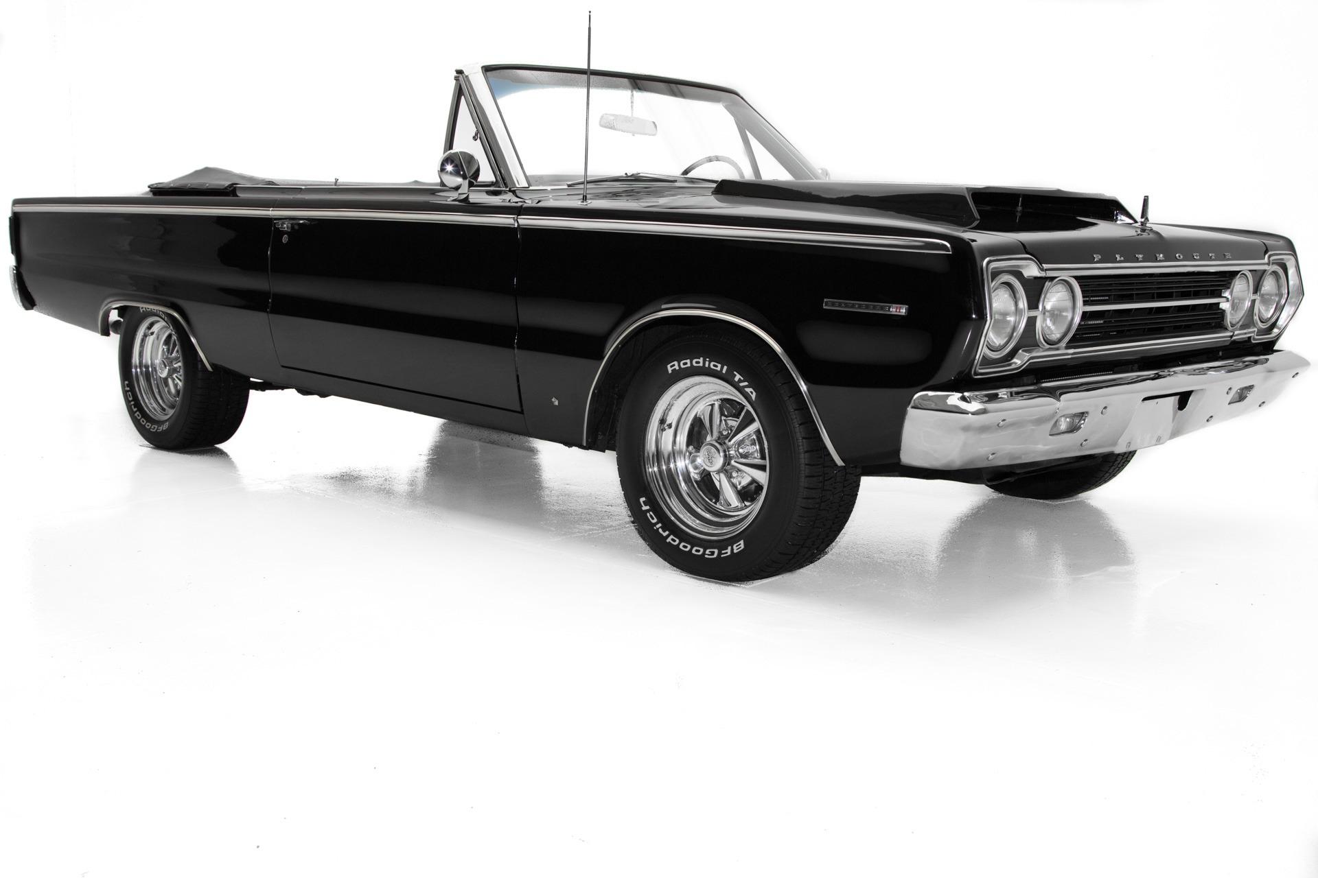 Photo 1967 Plymouth Belvedere II Triple Black, New 360, 727