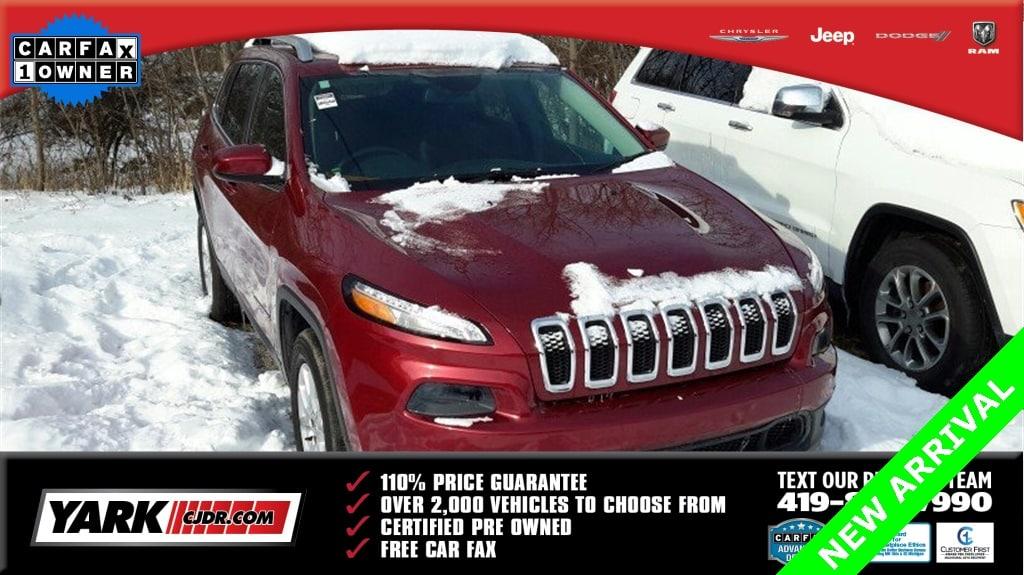 Certified Used 2015 Jeep Cherokee Latitude 4x4 SUV in Toledo