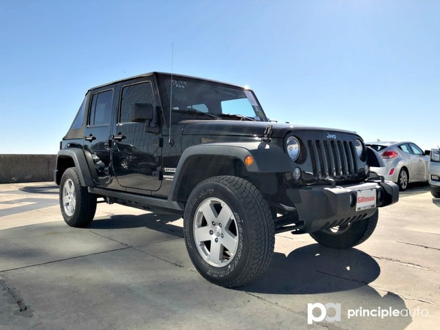 Photo Used 2016 Jeep Wrangler Unlimited Sport SUV For Sale San Antonio, TX