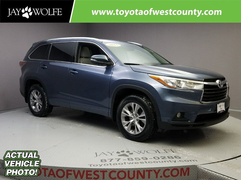 Certified Pre-Owned 2015 TOYOTA Highlander L Sport Utility AWD
