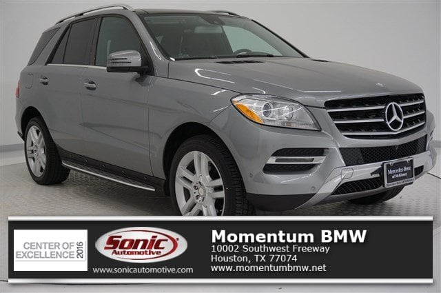 Photo Used 2015 Mercedes-Benz M-Class ML 350 RWD 4dr SUV in Houston, TX