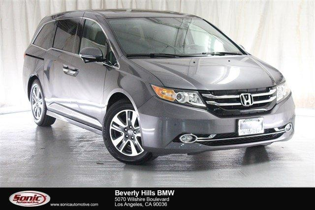 Used 2015 Honda Odyssey Touring with DVD Rear Entertainment System and Navigation