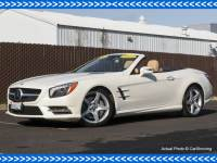 Certified Pre-Owned 2015 Mercedes-Benz SL-Class CERTIFIED 2015 MB SL 400 LOADED Rear Wheel Drive Convertible