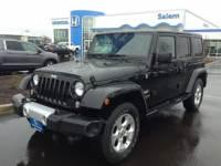 Used 2014 Jeep Wrangler Unlimited Sahara 4x4 in Salem