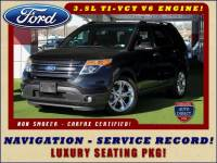 2013 Ford Explorer Limited FWD - NAV - LUXURY SEAT PKG!