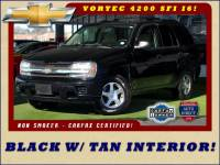 2006 Chevrolet TrailBlazer LS RWD - BLACK /W TAN INTERIOR - 1 OWNER!