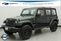 2011 Jeep Wrangler Unlimited Sport SUV in Denver