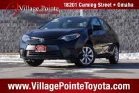 2016 Toyota Corolla LE Sedan FWD for sale in Omaha