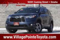 2015 Toyota Highlander XLE V6 SUV AWD for sale in Omaha