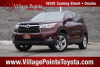 2015 Toyota Highlander Limited SUV AWD for sale in Omaha