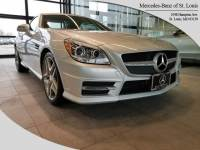 Certified Pre-Owned 2015 Mercedes-Benz SLK 350 Roadster For Sale St. Louis, MO