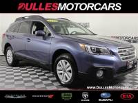 Certified Used 2017 Subaru Outback 2.5i SUV in Leesburg