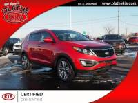 Certified Pre Owned 2015 Kia Sportage EX FWD in Olathe, KS