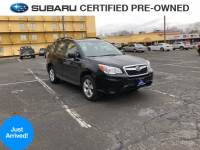 Certified Pre-Owned 2016 Subaru Forester 2.5i (CVT) in Stamford CT