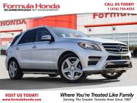 Pre-Owned 2014 Mercedes-Benz M-Class $100 PETROCAN CARD NEW YEAR'S SPECIAL! All Wheel Drive 4MATIC Sport Utility