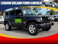 Pre-Owned 2007 Jeep Wrangler Unlimited Sahara 4WD Unlimited Sahara in Jacksonville FL