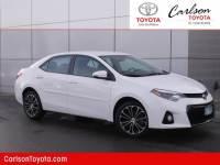 2016 Toyota Corolla CVT S Sedan Front-wheel Drive