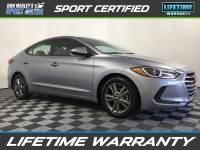 Pre-Owned 2017 Hyundai Elantra Value Edition FWD 4D Sedan