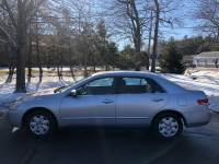 2004 Honda Accord LX Sedan AT with Front Side Airbags 5-Speed Automatic