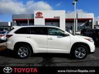 2014 Toyota Highlander Limited V6 SUV All-wheel Drive