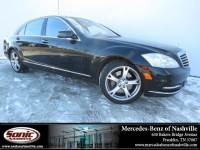Used 2013 Mercedes-Benz S-Class S 550 4MATIC Sedan