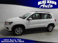 2016 Volkswagen Tiguan S with 4MOTION SUV in Duncansville | Serving Altoona, Ebensburg, Huntingdon, and Hollidaysburg PA