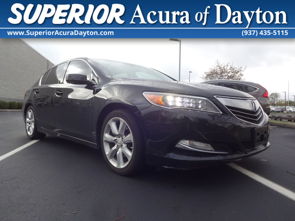 Photo 2014 Acura RLX With Navigation Sedan
