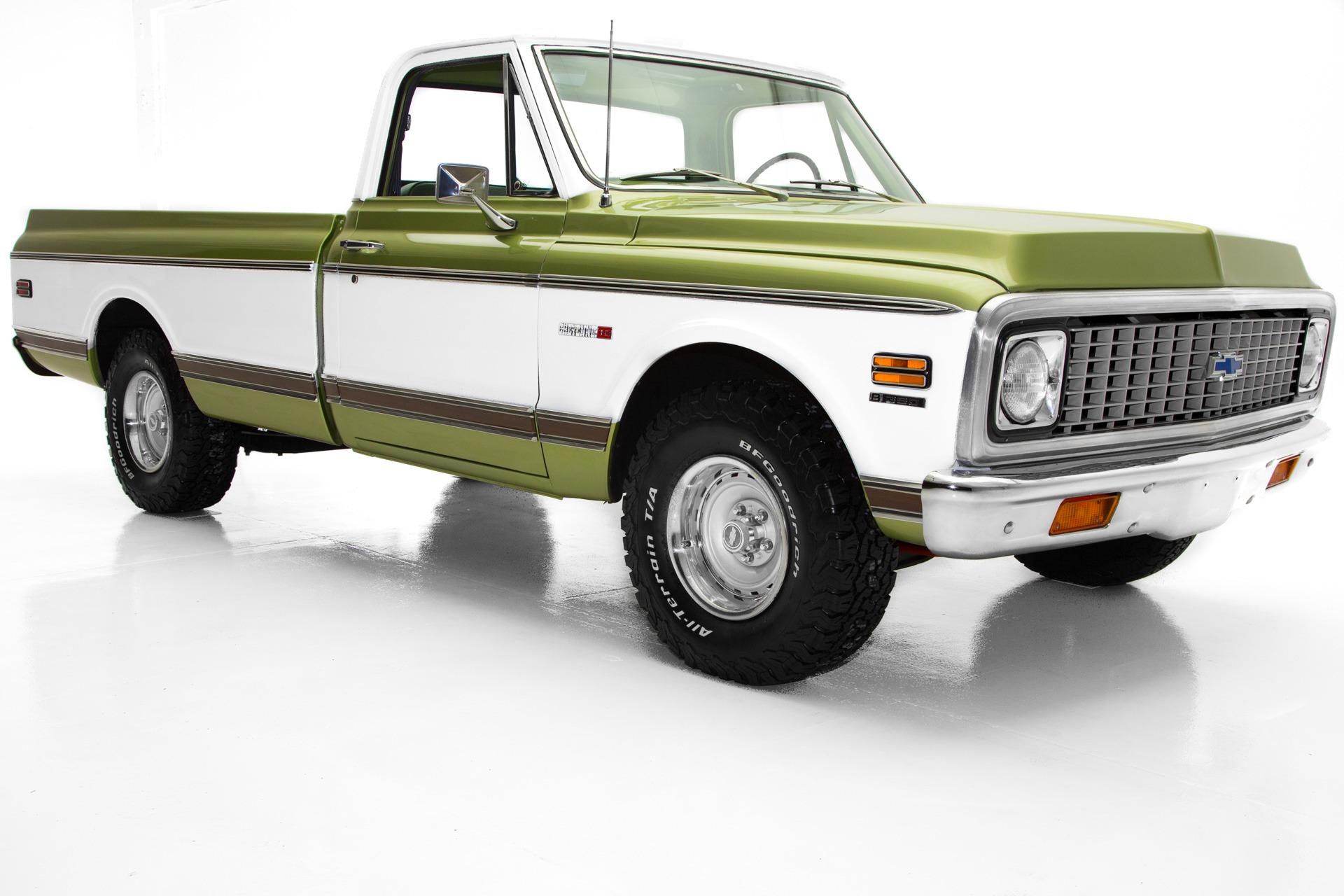 1972 Chevrolet Pickup Cheyenne C10 Frame-off AC