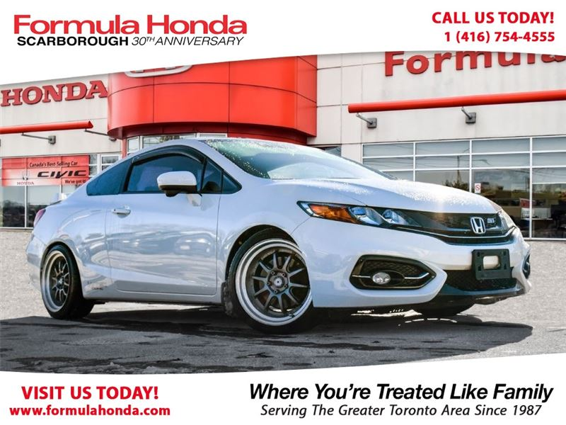 Photo Certified Pre-Owned 2015 Honda Civic 100 PETROCAN CARD NEW YEARS SPECIAL FWD Car