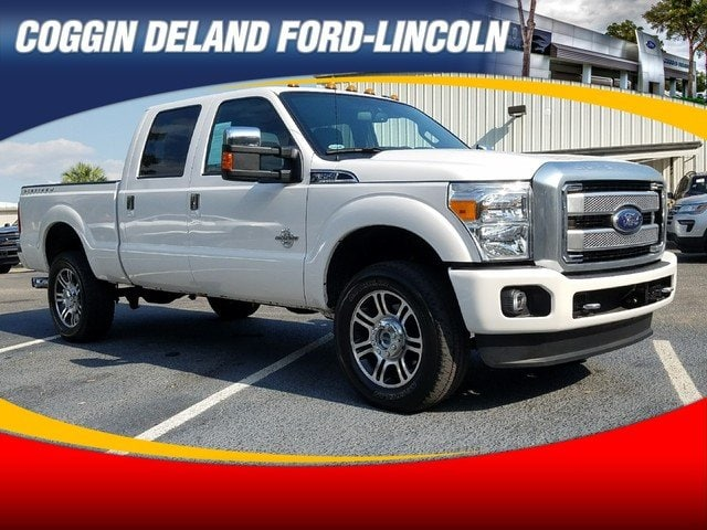 Pre-Owned 2016 Ford Super Duty F-350 SRW Lariat Crew Cab in Jacksonville FL