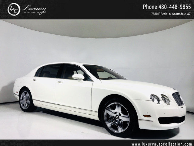 2006 Bentley Continental Flying Spur Solar Roof | Chrome Wheels | Htd Seats | Navi | Rear Camera | 07 08 All Wheel Drive Sedan
