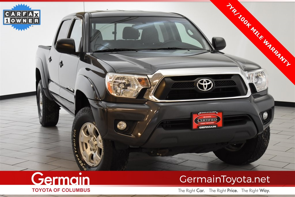 Certified Pre-Owned 2015 Toyota Tacoma STD 4D Double Cab