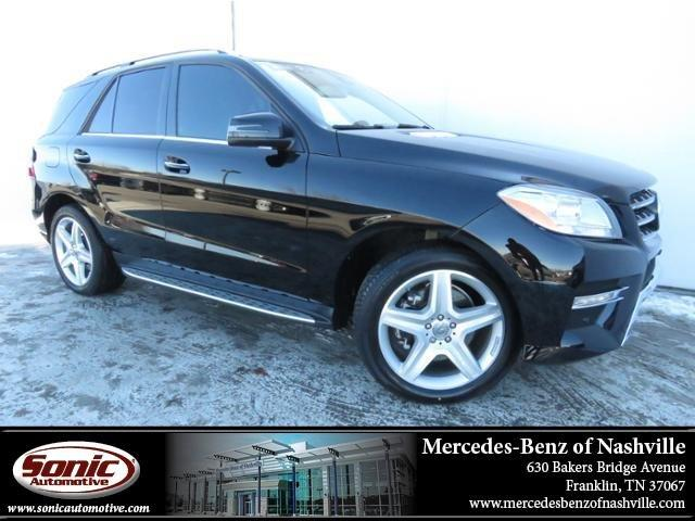 Used 2015 Mercedes-Benz M-Class ML 400 SUV