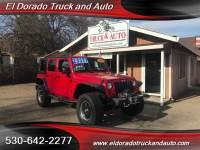 2008 Jeep Wrangler Unlimited Rubicon for sale in El Dorado CA